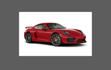 Porsche Cayman GT4 981 (2012-2016), Rear Sill Skirt Vents CLEAR Paint Protection