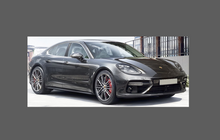 Porsche Panamera (Type 971) 2016-, Headlights CLEAR Stone Protection