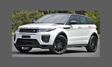 Land Rover Range Rover Evoque (Type L358) 2011-, Headlights CLEAR Stone Protection