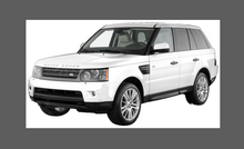 Land Rover Range Rover Sport (Type L320) 2004-2013, Rear Door Arch CLEAR Paint Protection