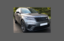 Range Rover Velar 2017-, Rear Bumper Upper CLEAR Scratch Protection