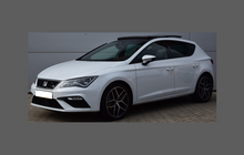 Seat Leon (Type 5F Facelift) 2016-, Rear Bumper CLEAR Scratch Protection