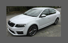 Skoda Octavia VRS (Type MK3 5E) 2013-2017, Front Bumper CLEAR Paint Protection