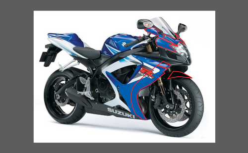 Suzuki Motorcycle GSXR 600/750 2006-2007 Front Nose CLEAR Paint Protection