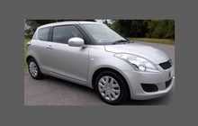 Suzuki Swift (3 door) 2009-2012, Rear QTR / Wing Arch CARBON Paint Protection