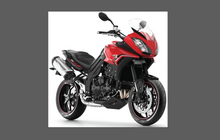 Triumph Tiger Sport Motorcycle 2014-, Front Nose CLEAR Paint Protection Kit