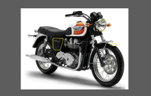 Triumph New Bonneville Motorcycle 2001-, Headlight, Side & Mudgaard CLEAR Paint Protection