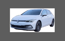 Volkswagen Golf (MK8) 2019-Present, Headlights CLEAR Stone Protection