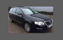 Volkswagen Passat Estate (Type B6) 2006-2010, Rear Arches CLEAR Paint Protection
