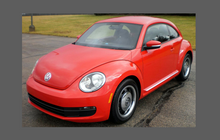 Volkswagen Beetle (MK2) 2011-2017, OE Style Rear Arch Lower CLEAR Paint Protection