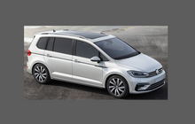 Volkswagen Touran (Type 5G) 2015- , Front Bumper CLEAR Paint Protection