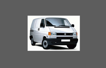 Volkswagen Transporter / Caravelle 1990-2003 (Type T4), Rear QTR Arch CLEAR Paint Protection