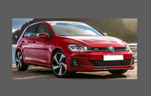 Volkswagen Golf (MK7.5) 2017-Present, Headlights CLEAR Paint Protection