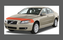 Volvo S80 (2007-2013), Bonnet & Wings Front Sections CLEAR Paint Protection