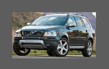 Volvo XC90 (2002-2014), Rear Door Arch OE style CLEAR Paint Protection