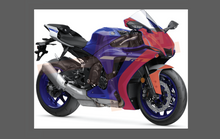 Yamaha YZF R1 2019-, Front Nose CLEAR Paint Protection kit