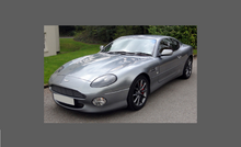 Aston Martin DB7 1994-2004 Bonnet & Wings CLEAR Paint Protection
