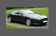 Aston Martin DB9 2004-2012 Door Mirror Covers CLEAR Paint Protection