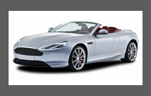 Aston Martin DB9 2012-2016 A-Pillars CLEAR Paint Protection