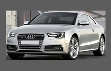 Audi A5 S5 RS5 (Type 8T Facelift) 2011-2016, Front Bumper CLEAR Paint Protection