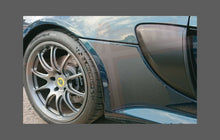 Lotus Exige S3 2012- Rear QTR/Sill skirt BLACK Shield
