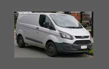Ford Transit Custom (MK4) 2014- OE Style Rear Side Panel Arch CLEAR Paint Protection