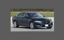 Jaguar XF Standard (Gen 2) 2015- Side Sill Skirt Trim Rear CLEAR Paint Protection
