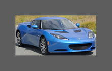 Lotus Evora 2009-, Side Sill Skirt Trim Sections CLEAR Paint Protection