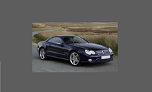 Mercedes-Benz SL Class (R230) Door Mirror Covers CLEAR Paint Protection