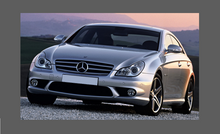 Mercedes-Benz CLS Class (W219) Headlights CLEAR Stone Protection