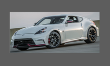 Nissan 370Z (2015-) Nismo Side Sill Skirt Trims CLEAR Paint Protection