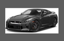 Nissan GTR (R35) 2016-Present, Front Bumper CLEAR Paint Protection