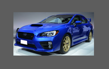 Subaru Impreza WRX STI 2015-2017 Door Handle Cups CLEAR Paint Protection