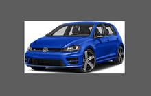 Volkswagen Golf R (MK7) 2014-2017, Front Bumper CLEAR Paint Protection