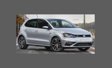 Volkswagen Polo (Type 6R, MK5) 2014-2017, Rear Bumper Upper CLEAR paint Protection