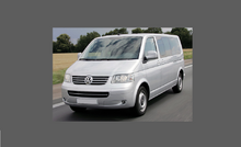 Volkswagen Transporter / Caravelle (Type T5) 2002-2009, Headlights CLEAR Stone Protection