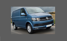 Volkswagen Caravelle (Type T6) 2016-2019, Front Bumper (3 Piece) CLEAR Paint Protection