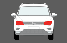Volkswagen Tiguan 2017-Present, Headlights CLEAR Stone Protection