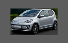 Volkswagen Up 2011-Present, Rear QTR Arch CLEAR Paint Protection