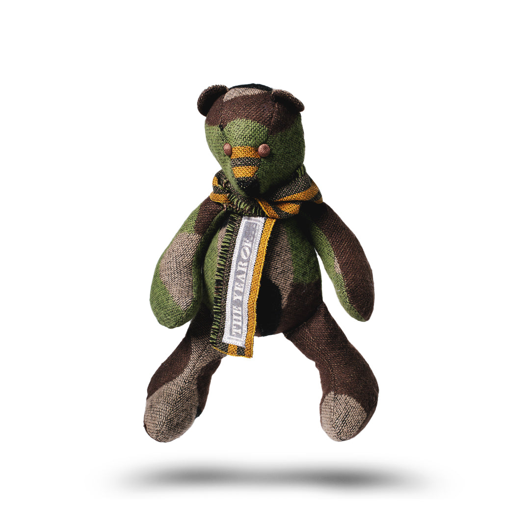 "BOBBY JOSEPH® + The Year Of...® ""Forest Camouflage"" Teddy Bear"