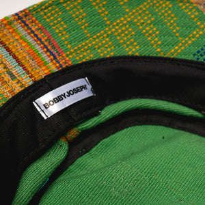 """Baule"" Green Jacquard Bucket Hat"