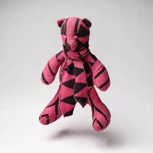 "BOBBY JOSEPH® + Harun Intl ""Mud Cloth"" Teddy Bear"
