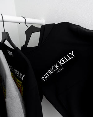 Patrick Kelly Embroidered Logo Hoody