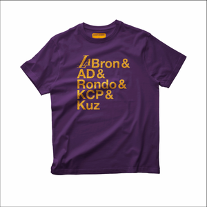 "Lakers ""Big Five"" T-shirt"