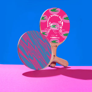 Power Show Ping Pong Paddle