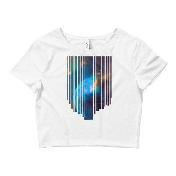 Fading Planet Crop Top - Rave Threads USA - EDM, Rave, and Festival Clothing Store