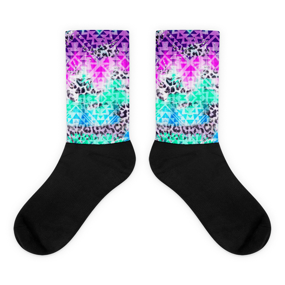 Prism Beast Socks - Rave Threads USA - EDM, Rave, and Festival Clothing Store
