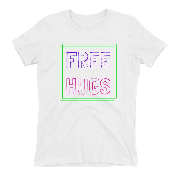 Free Hugs Women's Tee - Rave Threads USA - EDM, Rave, and Festival Clothing Store