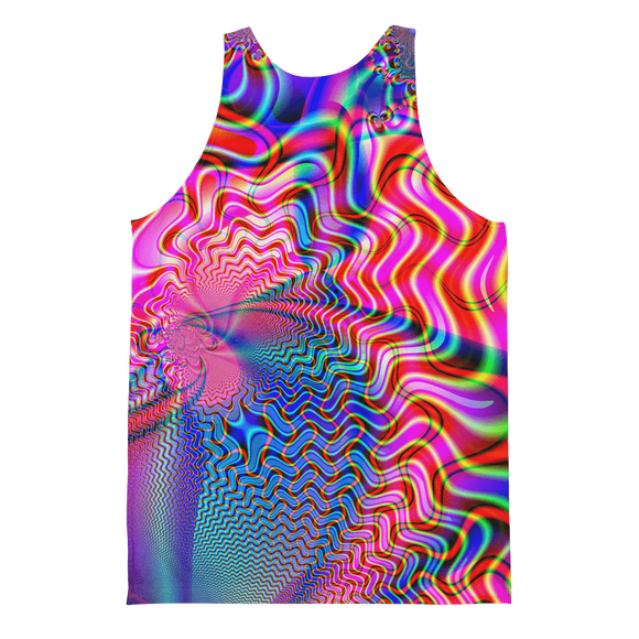 Color. Redefined. Men's Tank - Rave Threads USA - EDM, Rave, and Festival Clothing Store