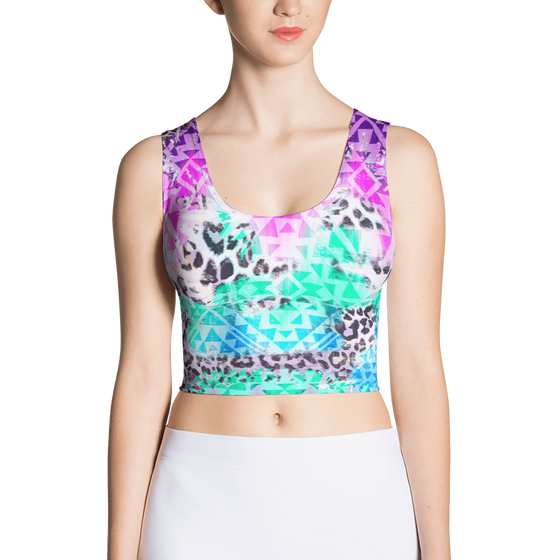 Prism Beast Crop Top - Rave Threads USA - EDM, Rave, and Festival Clothing Store
